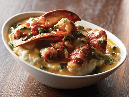 Lobster mashed potatoes will be among the optional