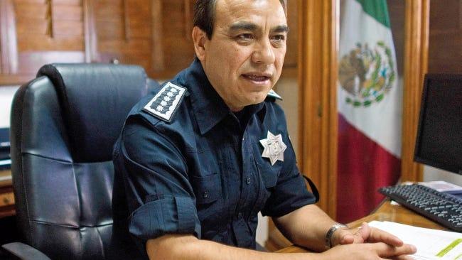 Former Juárez Police Chief Julián Leyzaola Pérez is shown in December 2012.