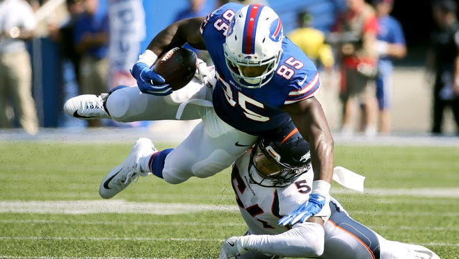 Buffalo Bills tight end Charles Clay
