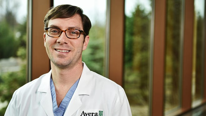 Dr. Matthew Barker is a urogynecologist with the Avera Medical Group.