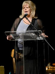 The Dream Center director Gail Gustafson speaks at last year's Night in the Caribbean event.