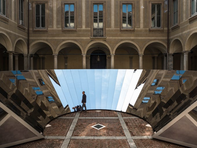 """""""Open Sky"""" by Phillip K. Smith III at Milan Design"""