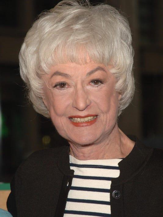 GTY (FILE) BEA ARTHUR DIES AT AGE 86 E CEL USA NY