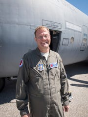 Lt. Col. Brian Schroeder, 53rd Weather Reconnaissance