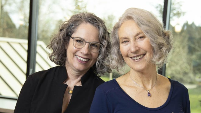Miriam Whiteley and Janet Hollander