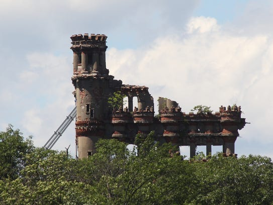 Bannerman Castle on Pollepel Island, also known as