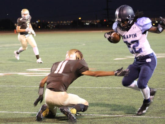 The Chapin Huskies shut out the Austin Panthers, 41-0,