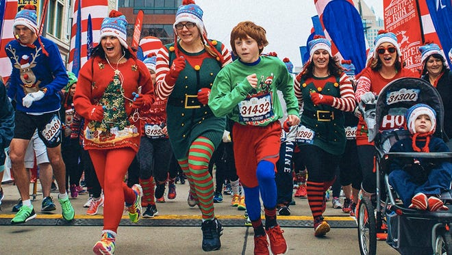 "Join thousands of runners, walkers and prancers from around the nation at ""The Ugly Sweater Run"" in Atlanta on Dec. 3."
