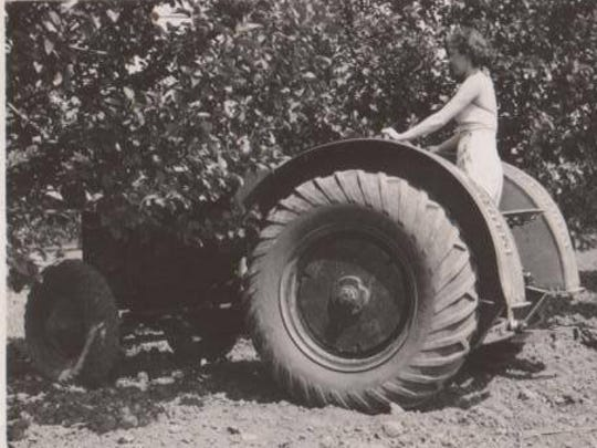 Until the early 1930s, steel lug tires on farm equipment