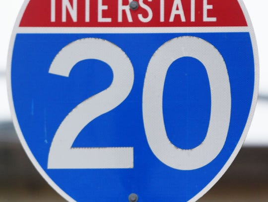 Interstate 20.
