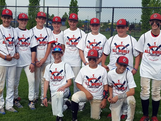 The Redding Vipers 13U baseball team, pictured on April