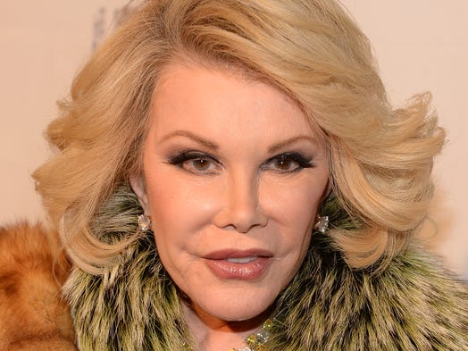 "Joan Rivers attends ""Howard Stern's Birthday Bash"" presented by SiriusXM, produced by Howard Stern Productions at Hammerstein Ballroom on January 31, 2014 in New York City."