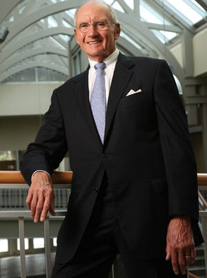 Jim Haslam, founder of Pilot Flying J truck stops in a 2008 photo, is father of Tennessee Gov. Bill Haslam and Cleveland Browns owner Jimmy Haslam.