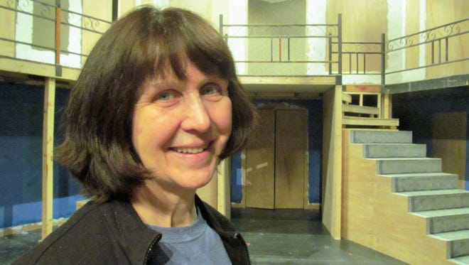 Anne M. Brady works to train students and direct productions as a professor at Binghamton University.