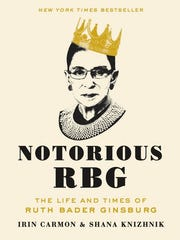 "The cover of ""Notorious RBG: The Life and Times of Ruth Bader Ginsburg."""