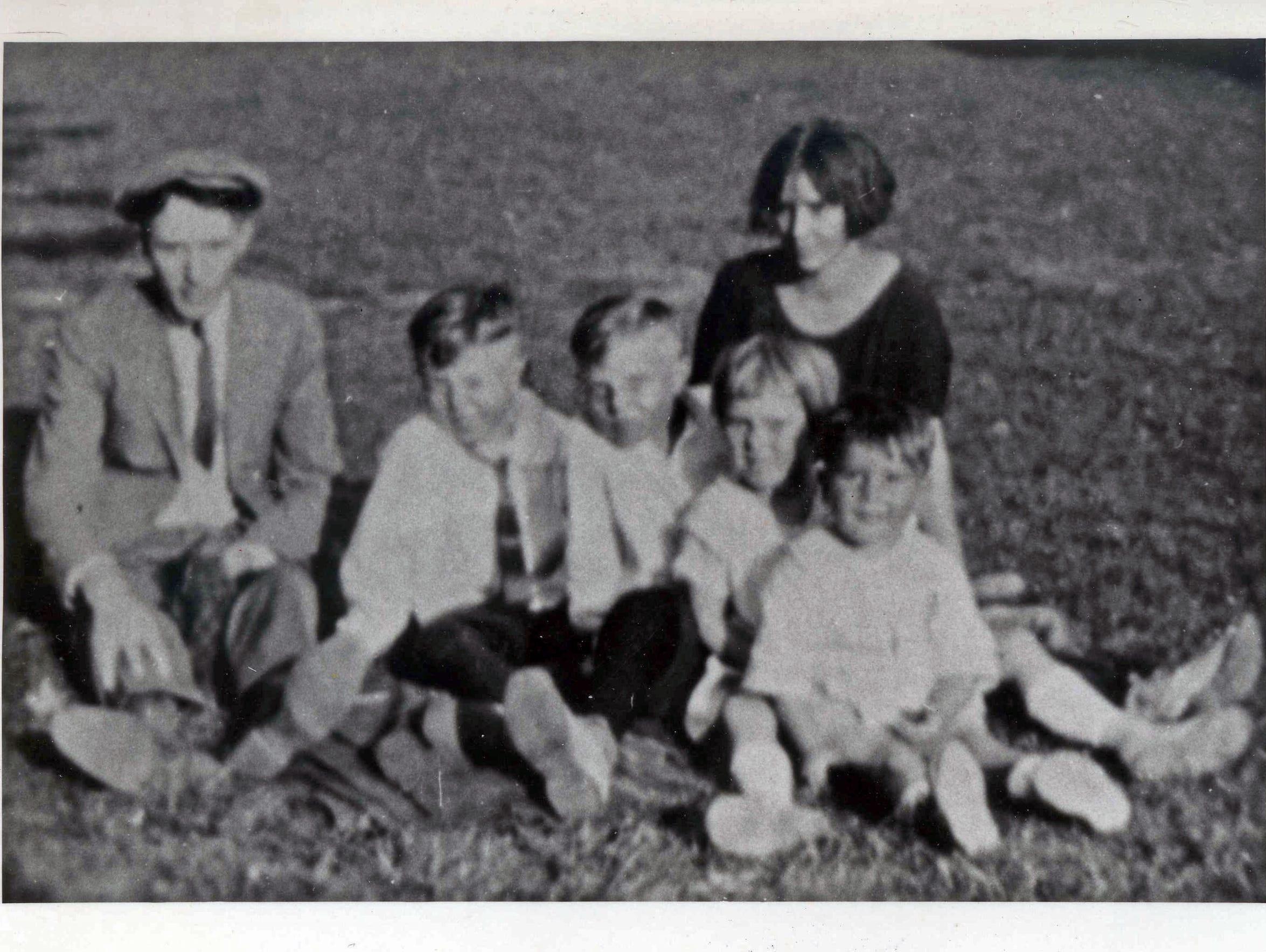 From left, William, Maurice, Donald, Mary, Bernard
