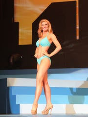 Hannah Zimmerman won the swimsuit contest during the