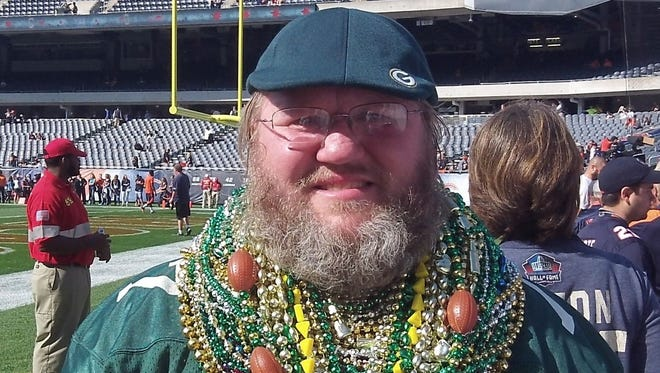 Russell Beckman, a Green Bay Packers fan and Chicago Bears season ticket holder, is suing the Bears for not letting him on the sideline in Packers apparel.