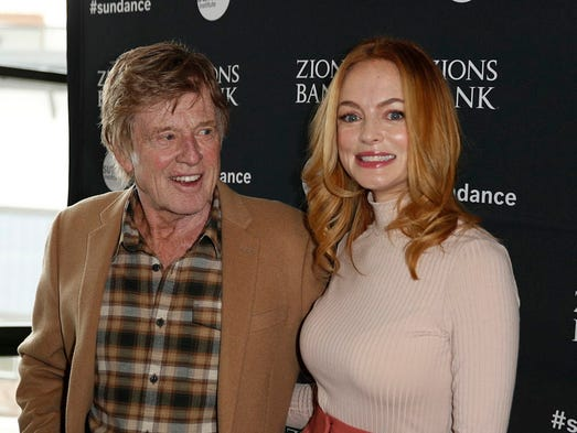Stars such as Robert Redford and Heather Graham bundled up and dressed down for arrivals at the 2018 Sundance Film Festival, which runs through Jan. 28 in snowy Park City, Utah. George Frey/EPA-EFE