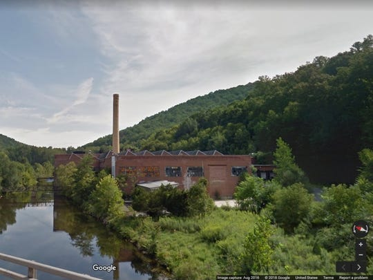 The former Fiber Mark paper mill in Holland Township could become the site of a natural gas power plant.