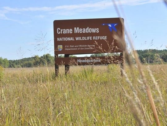 Crane Meadows National Wildlife Refuge near Little