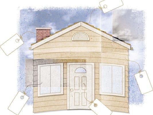 Home upgrades illustration