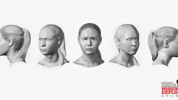A forensic artist from The National Center for Missing & Exploited Children recently completed a 3D skull facial reconstruction for the suspicious death of an unidentified white female found deceased on Oct. 10, 1973. The female was found in the area of SR 443 and Ridge Road/Tomstown Road., Union Twp., Lebanon County. The Jonestown barracks is looking for anyone who may have information regarding the identity of the female.