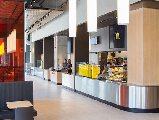Mcdonald 39 s serves menu items from around the world at hq restaurant - Mcdonald corporate office ...