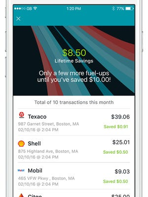 GasBuddy's new payment plan promises to save consumers 5 cents a gallon on fill-ups.