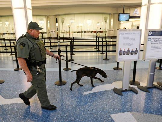 Jacksonville Airport Evacuation