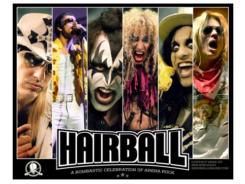 Enter to win 2 tickets to Hairball at the Iowa State Fairgrounds on Feb. 3rd! Enter 1/12-1/27