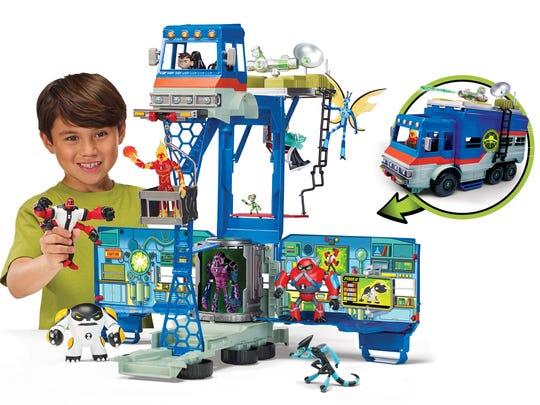 These 45 toys and products have earned the NAPPA seal of approval in 2017. Pictured is the Ben 10 Rustbucket Vehicle and Playset.