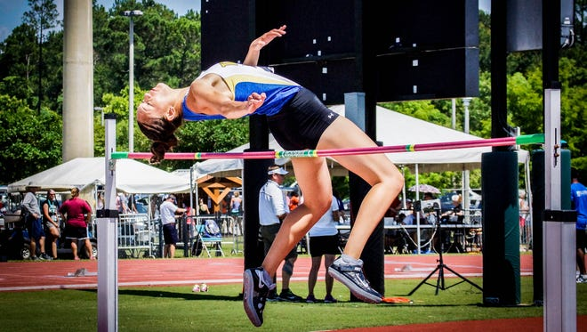 Wayland Baptist senior and Bel Air High School graduate Nina Sato will compete in the high jump at the NAIA National Track and Field meet.