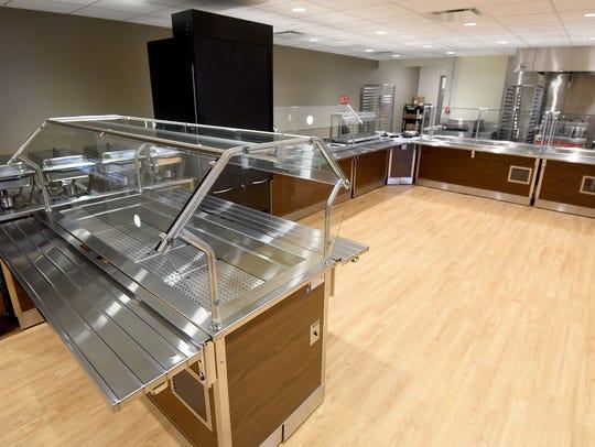 The cafeteria area at Avita Hospital.