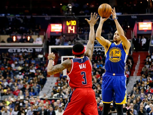 NBA: Golden State Warriors at Washington Wizards