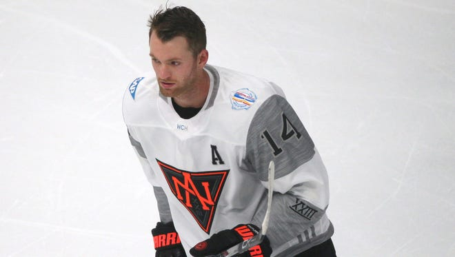 Center Sean Couturier, of Team North America, is one of seven Flyers in the World Cup of Hockey.