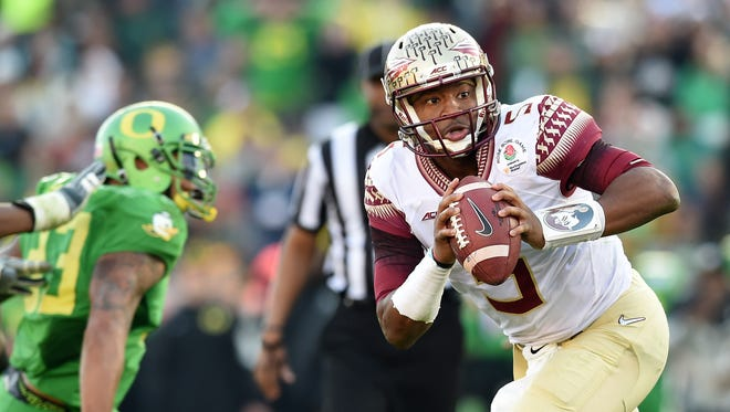 Jameis Winston's dad says his son is turning pro.