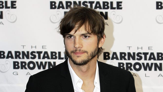 Ashton Kutcher is seen in a 2012 file photo.