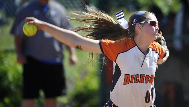 Dickson County's Brooklin Lee is The Tennessean softball player of the year for 2015.
