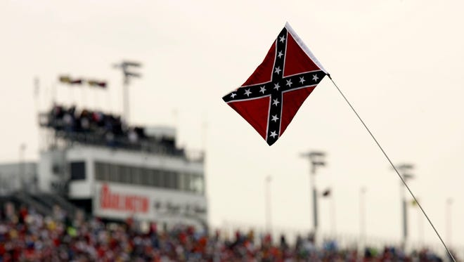 NASCAR's national series tracks are asking fans to refrain from displaying the Confederate flag at races.