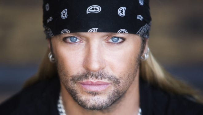 Bret Michaels has his own  line of bandana, luggage and barbecue products.