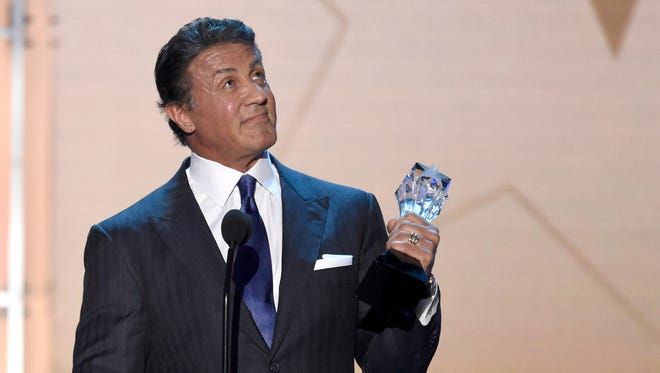 Sylvester Stallone! You did it!