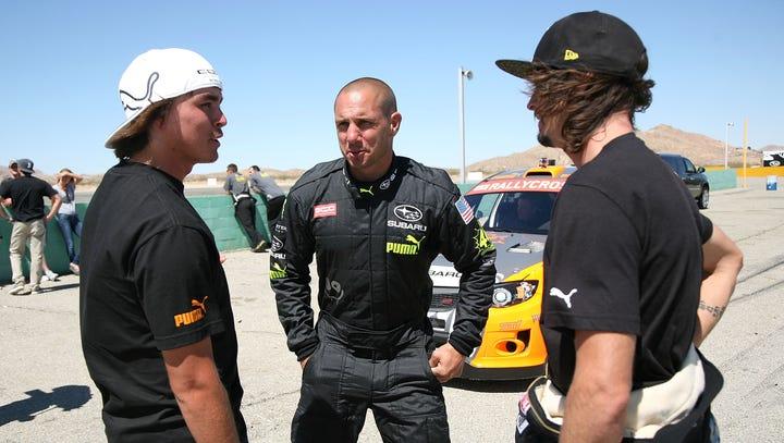 Dave Mirra (center)