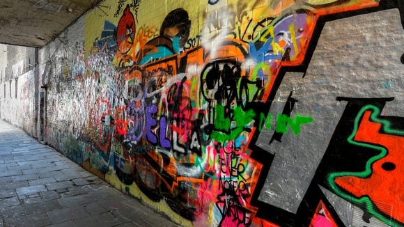 Het Graffitistraatje (Graffiti Street)