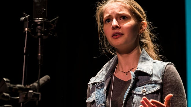 Emily Friedrichsen, a freshman at Champlain Valley Union High School, won last week's Poetry Out Loud state finals.