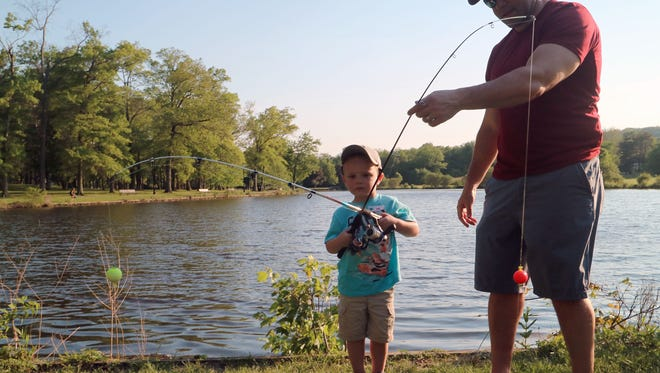 A fishing trip with a parent or grandparent can live forever in your mind.