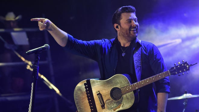 Chris Young will return to the Resch Center on Feb. 22.