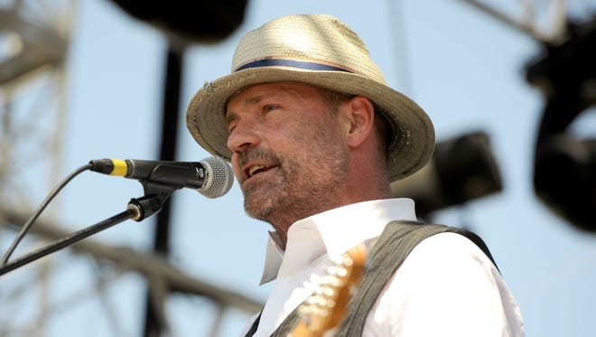 Musician Gordon Downie performs during the Coachella Valley Music & Arts Festival 2011.