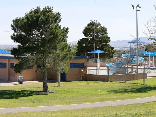 Lionel Forti outdoor pool, which is located on 1225