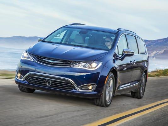 Auto review: Chrysler minivan goes electric